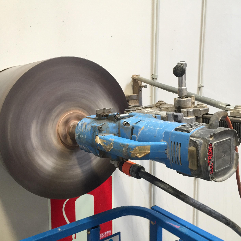 perforación de hormigón